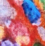Sluit olieverf omhoog abstracte achtergrond Kunst geweven penseelstreek royalty-vrije illustratie