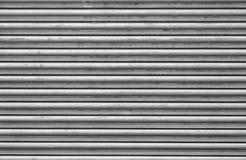 Sluit omhoog beeld van het blind van de staalrol royalty-vrije stock afbeelding