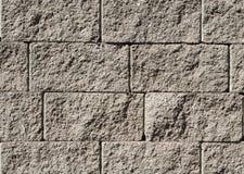 Sluit omhoog beeld van steenmuur Royalty-vrije Stock Foto