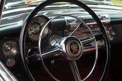 Sluit omhoog Binnenlandse buick van 1950 roadmaster Stock Fotografie