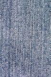Sluit omhoog Blauw Jean Fabric Texture Patterns Royalty-vrije Stock Afbeelding