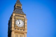 Sluit omhoog de Big Ben Royalty-vrije Stock Afbeeldingen