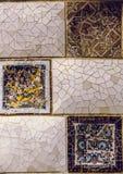 Sluit omhoog detail van een Geometrisch moza?ek royalty-vrije stock fotografie