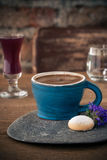 Sluit omhoog espresso Stock Afbeelding