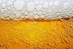 Sluit omhoog foto van bier Royalty-vrije Stock Foto's