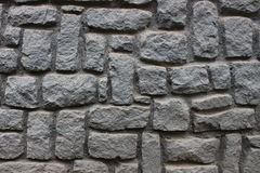 Sluit omhoog foto van een zwarte rotsmuur Stock Foto's