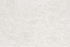 Sluit omhoog foto van textuur witte gebarsten muur stock afbeeldingen