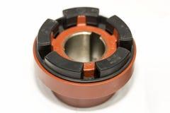 Sluit omhoog Geavanceerd technisch van precisie en gemakkelijk voor de vrije schakelaar snelle koppeling van de metaalweerslag vo stock afbeelding