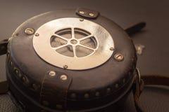 Sluit omhoog geschoten van een antiquiteit 1947 Watchclock, uitstekend concept stock foto's