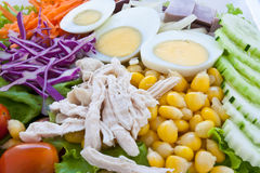 Sluit omhoog gezond voedsel Royalty-vrije Stock Afbeeldingen