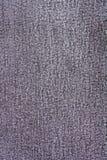 Sluit omhoog Gray Jean Fabric Texture Patterns Stock Afbeeldingen