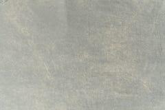 Sluit omhoog grijze stoffentextuur Achtergrond Stock Foto's
