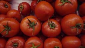 Sluit omhoog Groenten en Vruchten stock video