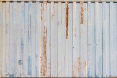 Sluit omhoog het oude patroon van de verschepende containerstreep Royalty-vrije Stock Fotografie