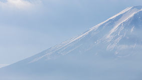Sluit omhoog Hoogste MT Fuji, Japan Royalty-vrije Stock Foto