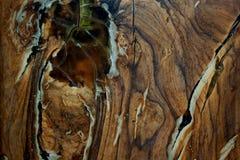 Sluit omhoog houten textuur Stock Afbeelding