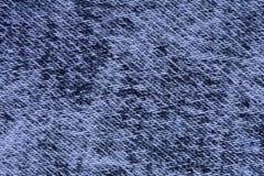 Sluit omhoog Jean Fabric Texture Patterns Stock Afbeelding