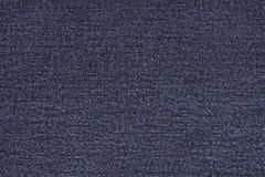 Sluit omhoog Jean Fabric Texture Patterns Stock Afbeeldingen