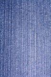 Sluit omhoog Jean Fabric Texture Patterns Royalty-vrije Stock Afbeelding