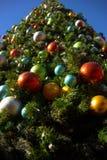 Sluit omhoog Kerstmisboom royalty-vrije stock afbeeldingen