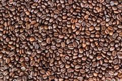 Sluit omhoog koffiebonen stock fotografie