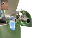 Sluit omhoog lossingspoort van multifunctioneel automatisch nieuw voedsel makend machinegehaktmolen voor industrieel zoals het ma royalty-vrije stock foto