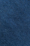 Sluit omhoog marine/blauwe stoffentextuur Achtergrond Royalty-vrije Stock Foto