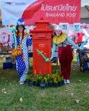Sluit omhoog mooie clown Royalty-vrije Stock Foto's