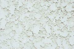 Sluit omhoog op de witte concrete muur Royalty-vrije Stock Afbeeldingen