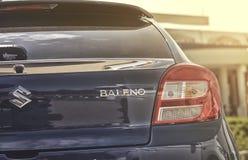Sluit omhoog op Suzuki Baleno Stock Afbeelding