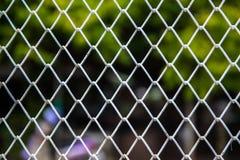 Sluit omhoog patroon Barb Wire stock foto