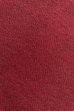 Sluit omhoog rode/roze stoffentextuur Achtergrond Royalty-vrije Stock Afbeelding