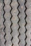 Sluit omhoog rubber van nivelleermachinewiel Stock Foto