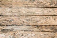 Sluit omhoog rustieke houten lijst met korreltextuur in uitstekende stijl Royalty-vrije Stock Foto