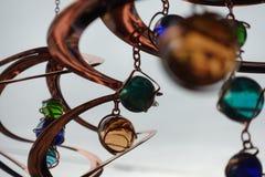 Sluit omhoog spiraalvormige spinners royalty-vrije stock fotografie
