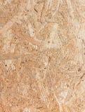 Sluit omhoog textuur van georiënteerde bundelraad (OSB) Stock Afbeelding