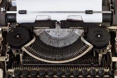 Sluit omhoog Uitstekende Schrijfmachine royalty-vrije stock foto's