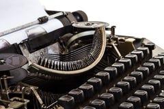 Sluit omhoog Uitstekende Schrijfmachine stock foto's