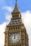 Sluit omhoog van Big Ben Royalty-vrije Stock Afbeeldingen