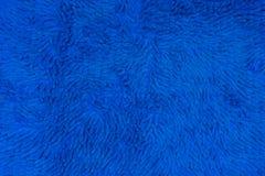 Sluit omhoog van Blauwe tapijttextuur 1 Stock Afbeelding