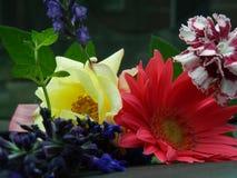 Sluit omhoog van bloemboeket Stock Afbeelding