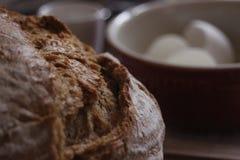 Sluit omhoog van brood stock foto