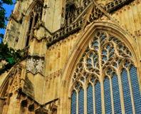 Sluit omhoog van Buitenkant van Kathedraal Royalty-vrije Stock Fotografie