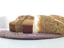 Sluit omhoog van cake Stock Foto's
