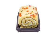 Sluit omhoog van cakebroodje Stock Foto