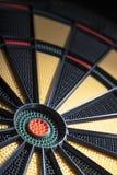 Sluit omhoog van dartboard royalty-vrije stock afbeelding