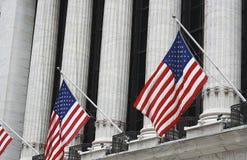 Sluit omhoog van de beurs van New York Royalty-vrije Stock Foto