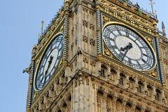 Sluit omhoog van de Big Ben Royalty-vrije Stock Afbeelding