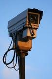 Sluit omhoog van de camera van kabeltelevisie Stock Foto's