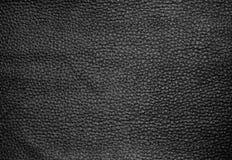 Sluit omhoog van de Donkere Bruine Achtergrond van de Leertextuur Stock Afbeeldingen